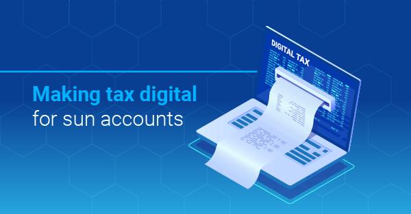 Making tax digital for sun accounts Thumbnail