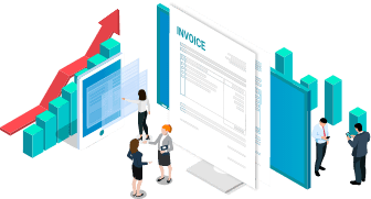 Sales invoice graphic